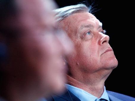 Президент ОАО «Российские железные дороги» Владимир Якунин. Фото: РИА Новости