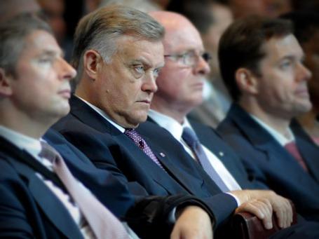 Президент ОАО «Российские железные дороги» Владимир Якунин. Фото: Митя Алешковский/BFM.ru