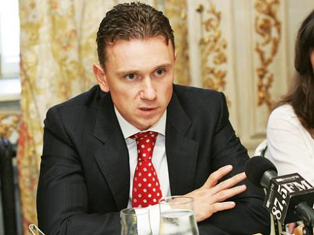 Заместитель председателя правления ФК «Уралсиб» Илья Филатов. Фото: ИТАР-ТАСС