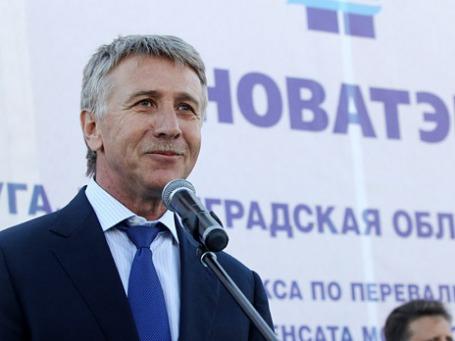 Председатель правления ОАО «Новатэк» Леонид Михельсон. Фото: ИТАР-ТАСС