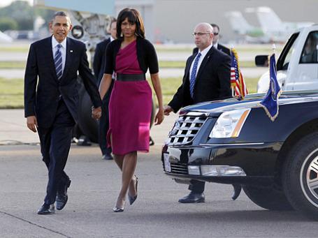 Президент США Барак Обама и первая леди Мишель Обама. Фото: Reuters