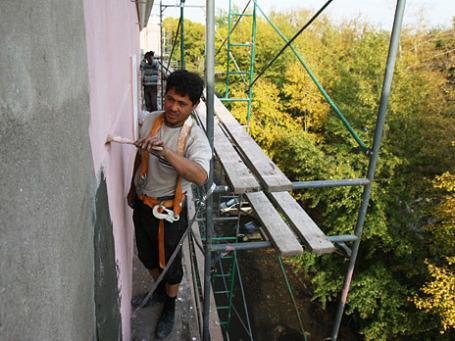 Капитальный ремонт жилого дома. Фото: РИА Новости