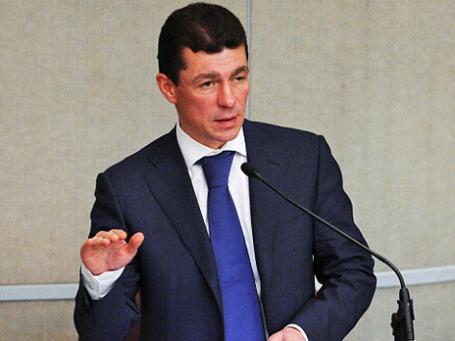 Министр труда и социальной защиты РФ Максим Топилин. Фото: РИА Новости