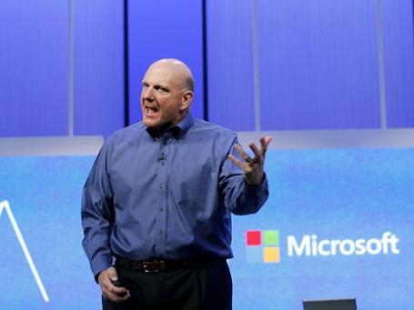 Генеральный директор Корпорации Майкрософт Стивен Балмер. Фото: Reuters