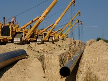 Строительство газопровода Nabucco West. Фото: nabucco-pipeline.com