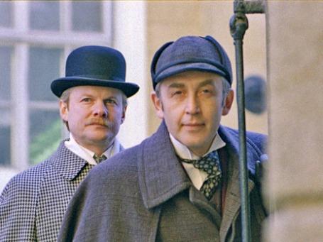 Кадр из фильма: «Шерлок Холмс и доктор Ватсон: Собака Баскервилей»