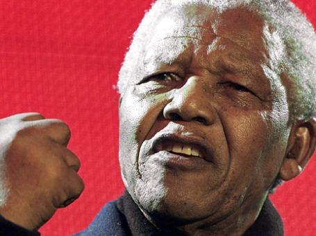 Президент ЮАР Нельсон Мандела. Фото: Reuters