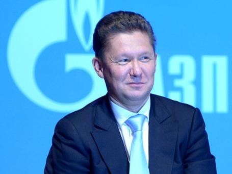 Председатель правления ОАО «Газпром» Алексей Миллер. Фото: РИА Новости