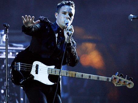 Вокалист группы The Killers Брэндон Флауэрс. Фото: Reuters