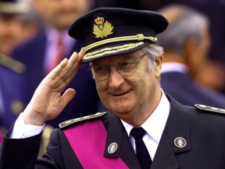 Король Бельгии Альберт II. Фото: Reuters