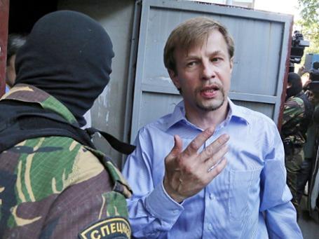 Мэр Ярославля Евгений Урлашов во время задержания. Фото: РИА Новости