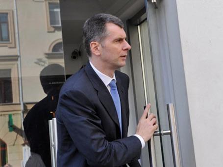 Бизнесмен Михаил Прохоров. Фото: РИА Новости