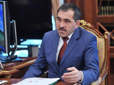 Исполняющий обязанности главы Ингушетии Юнус-Бек Евкуров. Фото: РИА Новости