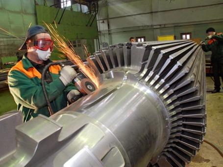 Производство компании ОАО «Силовые машины». Фото: power-m.ru