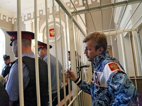 Мэр Ярославля Евгений Урлашов, задержанный по подозрению во взяточничестве. Фото: РИА Новости