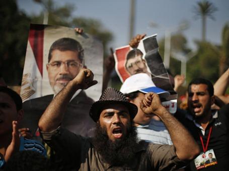 Сторонники снятого с должности президента Мухаммеда Мурси. Фото: Reuters