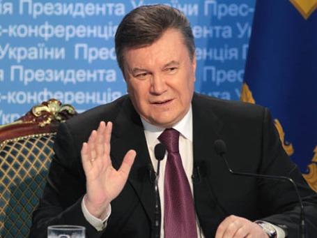 Виктор Янукович. Фото: РИА Новости