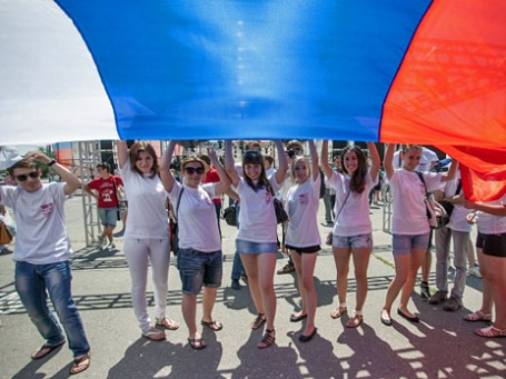 Празднование Дня России. Фото: РИА Новости
