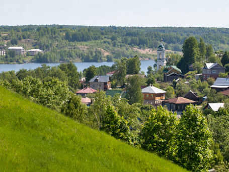 Город Плес на реке Волге становится новой Рублевкой. Фото: РИА Новости