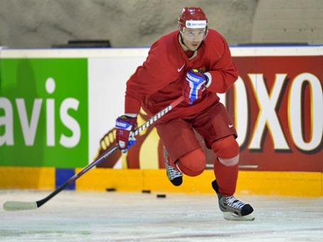 Игрок сборной России Илья Ковальчук. Фото: РИА Новости