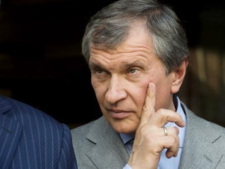 Президент «Роснефти» Игорь Сечин. Фото: РИА Новости