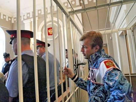 Мэр Ярославля Евгений Урлашов, задержанный по подозрению во взятке. Фото: РИА Новости