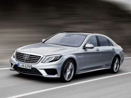 Mercedes-Benz S63 AMG. Фото предоставлено компанией Daimler.