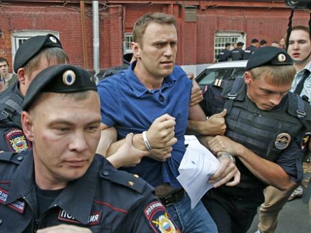 Оппозиционный блогер, кандидат на пост мэра Москвы Алексей Навальный. Фото: Reuters