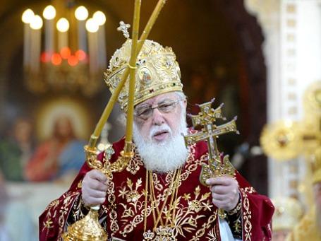 Грузинский католикос-патриарх Илия II. Фото: РИА Новости
