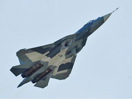 Российский многоцелевой истребитель пятого поколения Т-50. Фото: РИА Новости