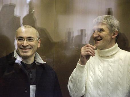 Михаил Ходорковский и Платон Лебедев. Фото: BFM.ru