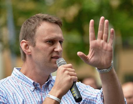 Кандидат на пост мэра Москвы Алексей Навальный. Фото: РИА Новости