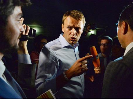 Кандидат в мэры Москвы Алексей Навальный. Фото: РИА Новости