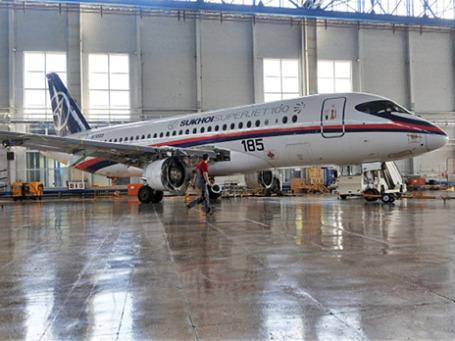 Самолет Sukhoi Superjet 100. Фото: РИА Новости