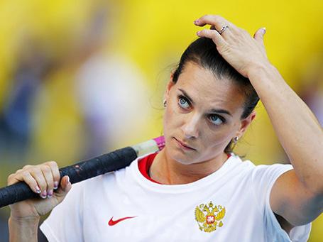 Елена Исинбаева. Фото: Reuters