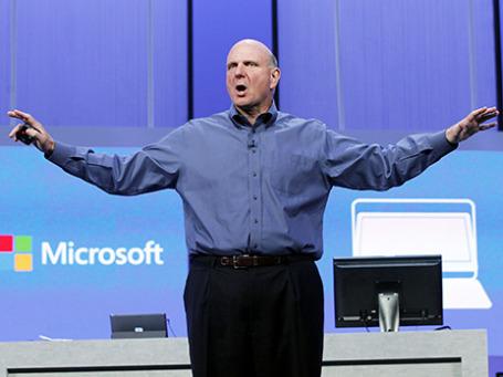 Генеральный директор американской корпорации Microsoft Стив Балмер. Фото: Reuters
