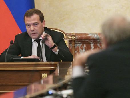Председатель правительства РФ Дмитрий Медведев. Фото: РИА Новости
