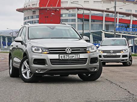 Volkswagen Touareg. Фото: Алексей Аксенов/BFM.ru