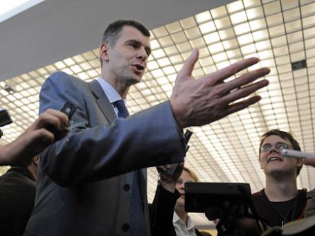 Михаил Прохоров. Фото: Reuters