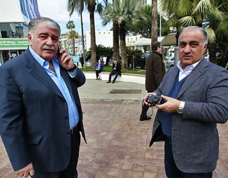 Зелимхан Муцоев и Амирхан Мори (слева направо). Фото: РИА Новости