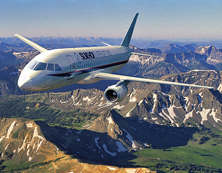 Авиалайнер Sukhoi Superjet 100. Фото: superjet100.com