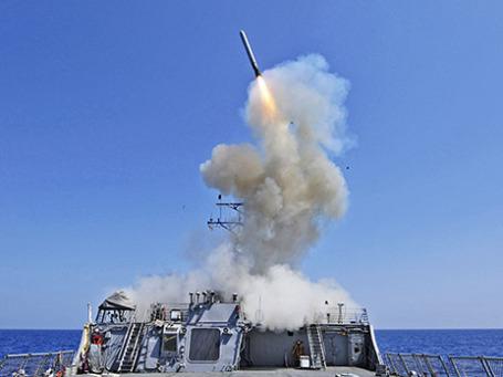 Эсминец «Barry». Фото: Reuters