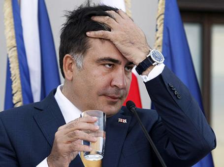 Президент Грузии Михаил Саакашвили. Фото: Reuters