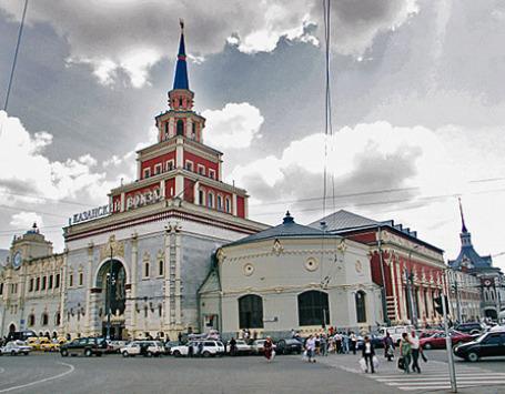 Здание Казанского вокзала в Москве. Фото: РИА Новости
