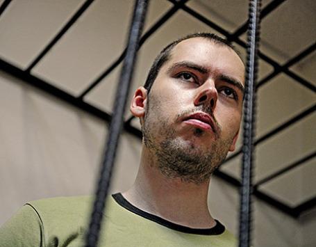 Дмитрий Виноградов, обвиняемый в расстреле своих коллег в офисе фармацевтической компании «Ригла». Фото: ИТАР-ТАСС