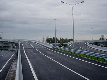 Открытие движения на продлении улицы Подольских Курсантов до МКАД. Фото предоставлено пресс-службой мэра и правительства Москвы