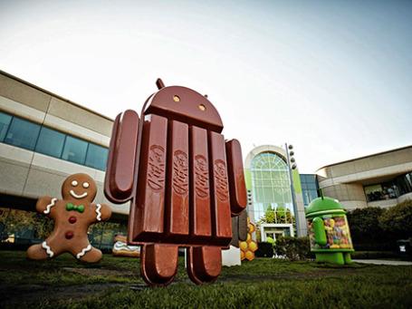 Статуя Андроида из глазури. Фото: plus.google.com/+SundarPichai/posts