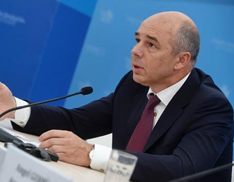 Министр финансов Российской Федерации Антон Силуанов. Фото: РИА Новости
