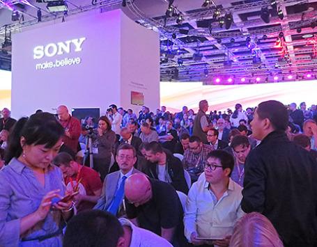 Презентация компании Sony на IFA-2013. Фото: Марина Эфендиева/BFM.ru