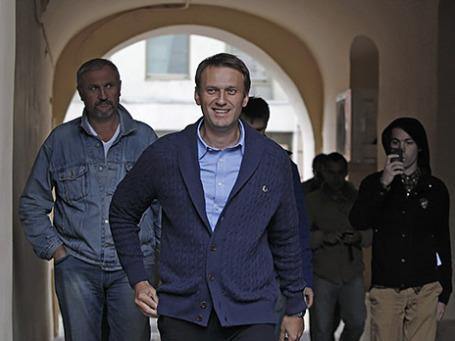 Кандидат на пост мэра Москвы Алексей Навальный. Фото:Reuters